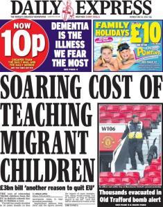 Express Migrant children 01