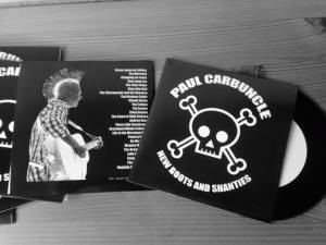Paul Carbuncle New Boots And Shanties CD (display)