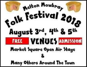 Melton Folk Festival Aug 2018