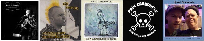 Paul Carbuncle 5 CD covers