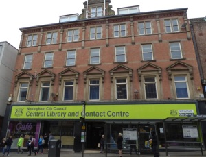 Nottingham Central Library