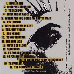 Paul Carbuncle A Cold Cup Of Tea CD (2)