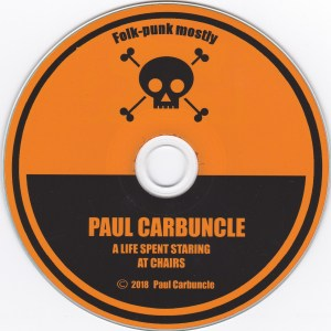 Paul Carbuncle A Life Spent Staring At Chairs (disc)