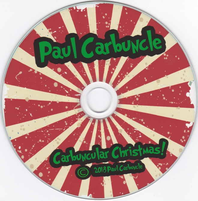 Paul Carbuncle Carbuncular Christmas disc