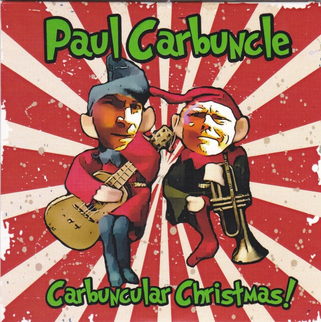 Paul Carbuncle Carbuncular Christmas sleeve front