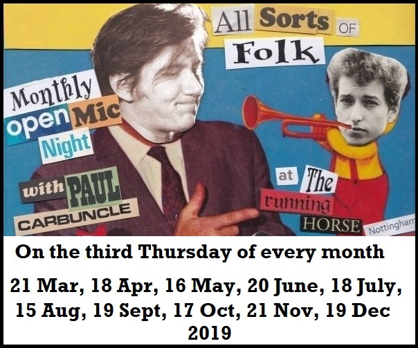 All Sorts Of Folk 2019 dates
