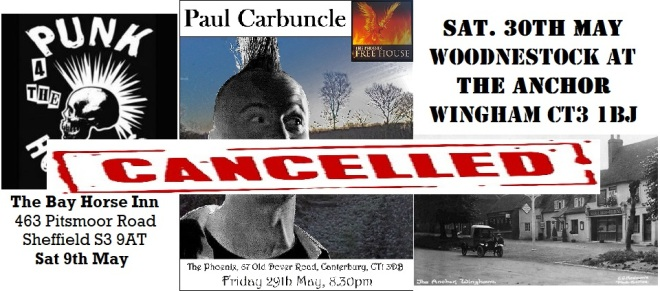 Cancelled gigs part 3
